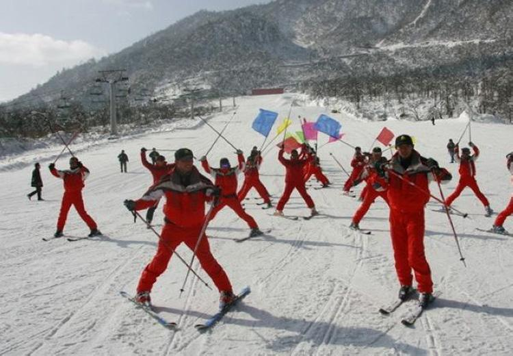 Ski at Xiling Snow Mountain Ski Resort, Chengdu