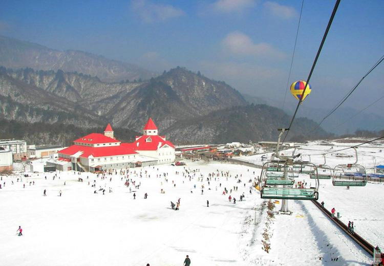 Scenery of Xiling Snow Mountain Ski Resort, Chengdu-2
