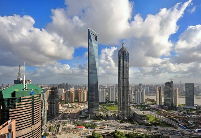 Shanghai World Financial Center is the highest architecture in Shanghai and mianland China.