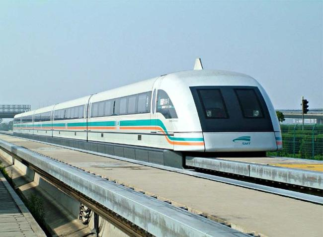 The Maglev Train of Shanghai is the first profitable maglev line in the world.