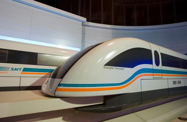 The head of the Maglev Train, Shanghai