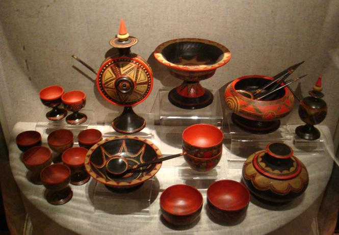 A tea set in Shanghai Museum