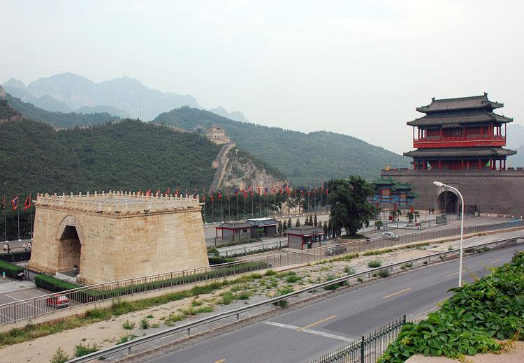 Cloud Terrace and  Scenery Nearby in Juyongguan Great Wall Scenic Area