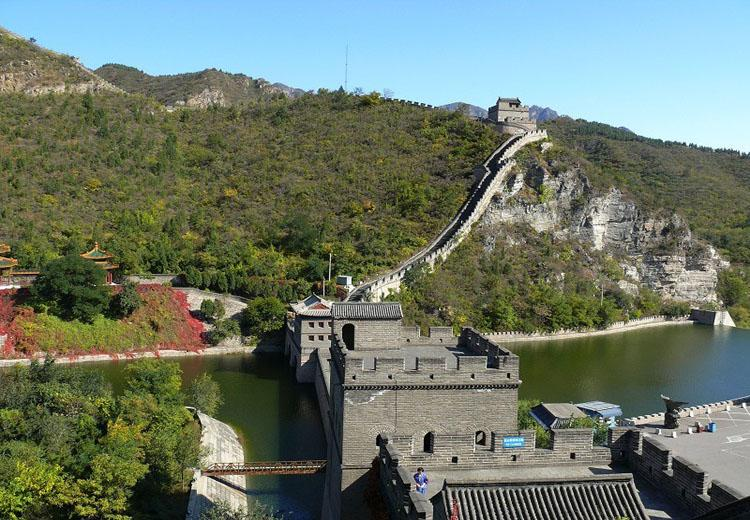 Water Gate in Juyongguan Great Wall Scenic Area