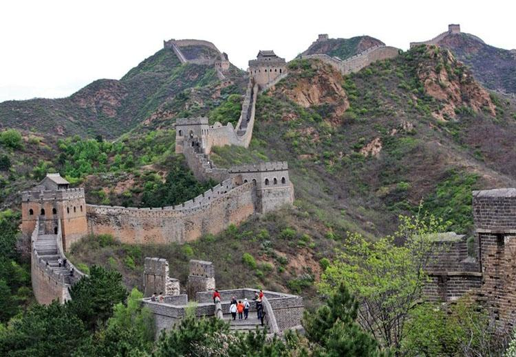 Jinshanling Great Wall is about 140km from Beijing
