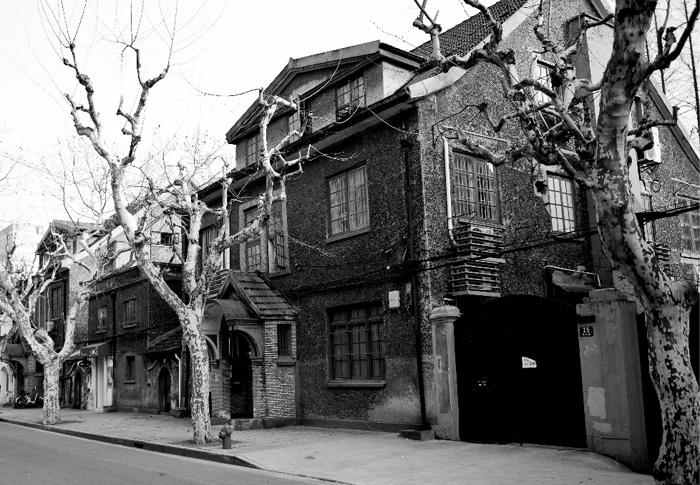 A western style building in Shanghai French Concession.