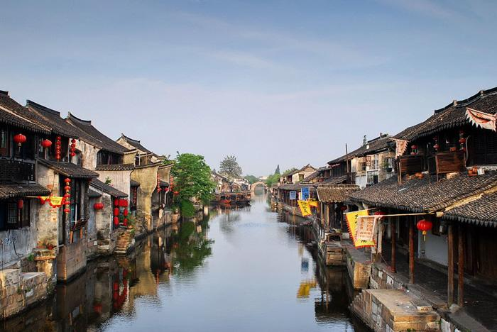 Xitang is a famous ancinet water town in China.