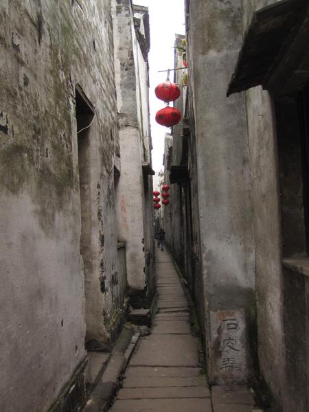 The famous Shipi Lane of Xitang.