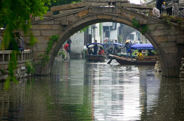 A arch bridge of Zhouzhuang.