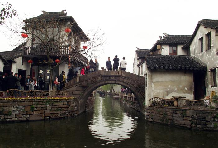 A view of the beautiful Zhouzhuang.