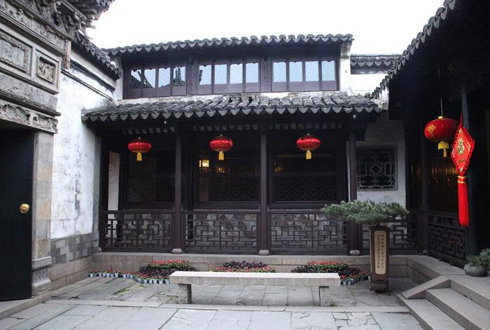 A residence in Zhouzhuang Ancient Town.