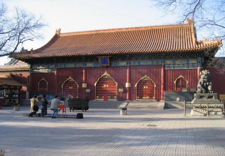 Yonghe Lamasery is the Largest and Best-preserved Lamasery in Beijing