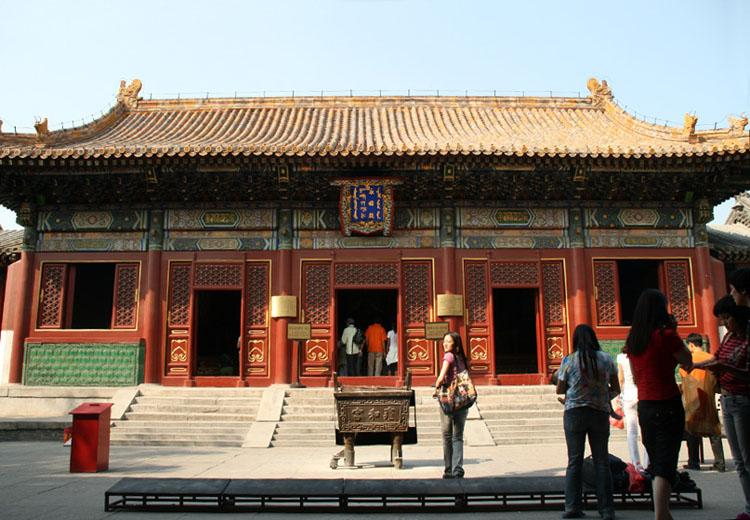 Yongyoudian(Hall of Everlasting Blessings)was Emperor Yongzheng's Living Room