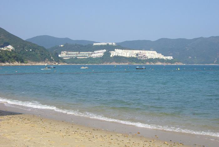 The Stanley beach, Hong Kong