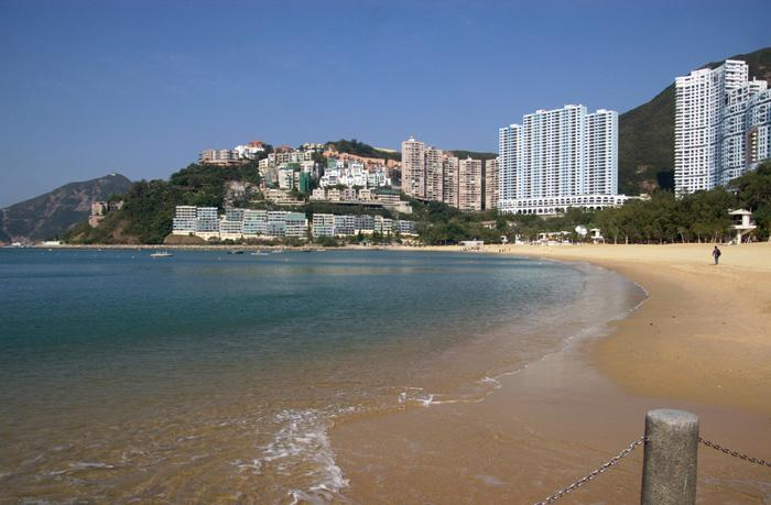 The beach of Repulse Bay, Hong Kong