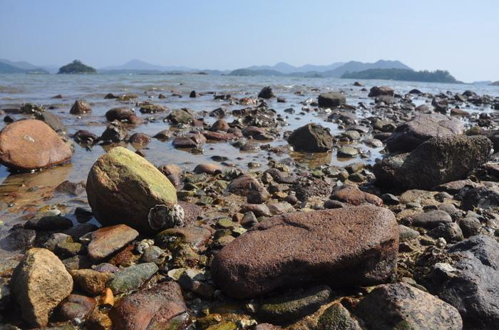 The beach of Sai Kung, Hong Kong
