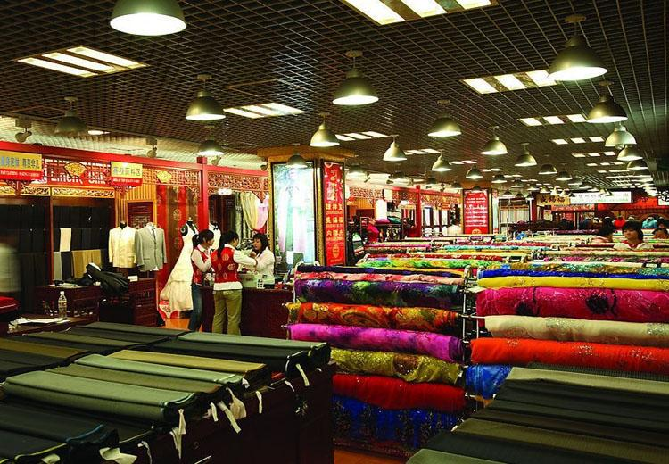 Silks Sold at Xiushui Street in Beijing