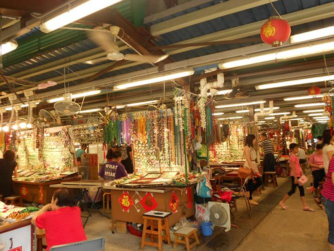 The Jade Market of Hong Kong sells jadeware in all varieties and grades.