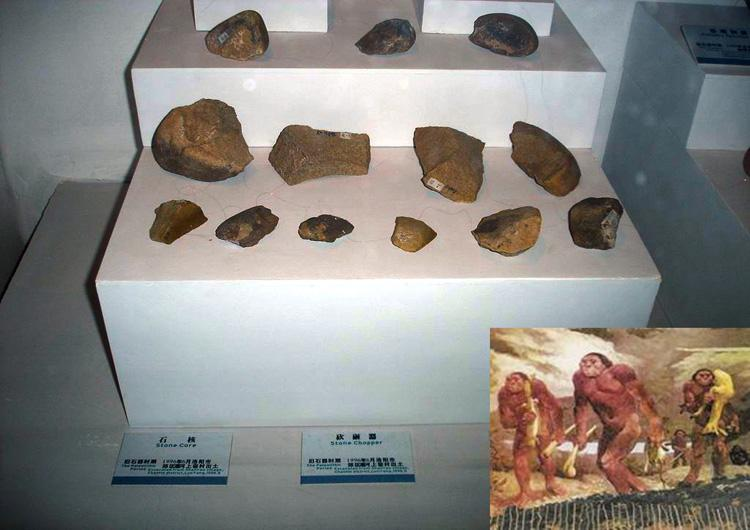 Stone Tools Found at Peking Man Site at Zhoukoudian