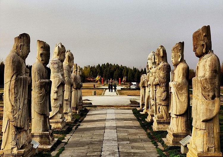 Mingzuling Tombs is the Burial Site and Cenotaph of Ancestors of Emperor Zhu Yuanzhang