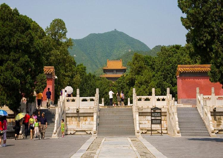 Ming Tombs is a Famous Attraction in Beijing, China