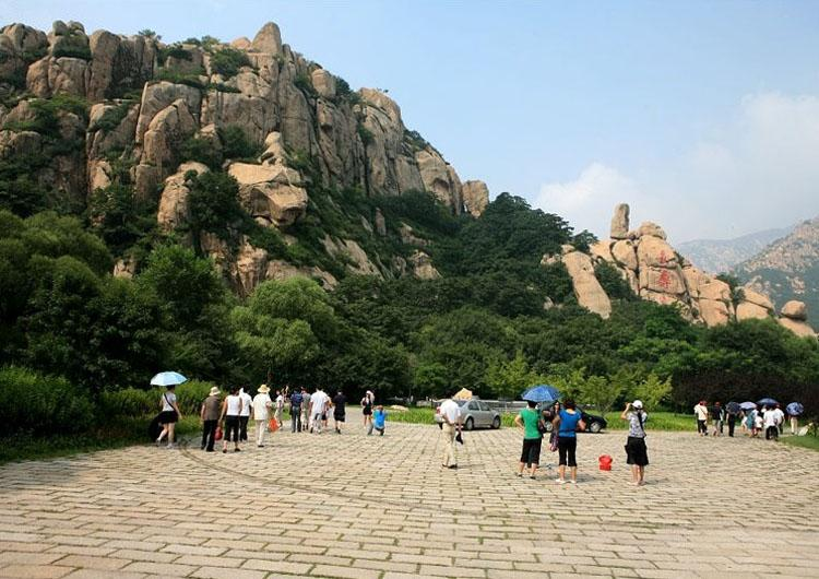 Longevity Mountain of Shanhai Pass,Great Wall in China