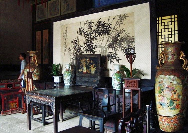 Inside of the Shanhai Guan Folk Custom Museum