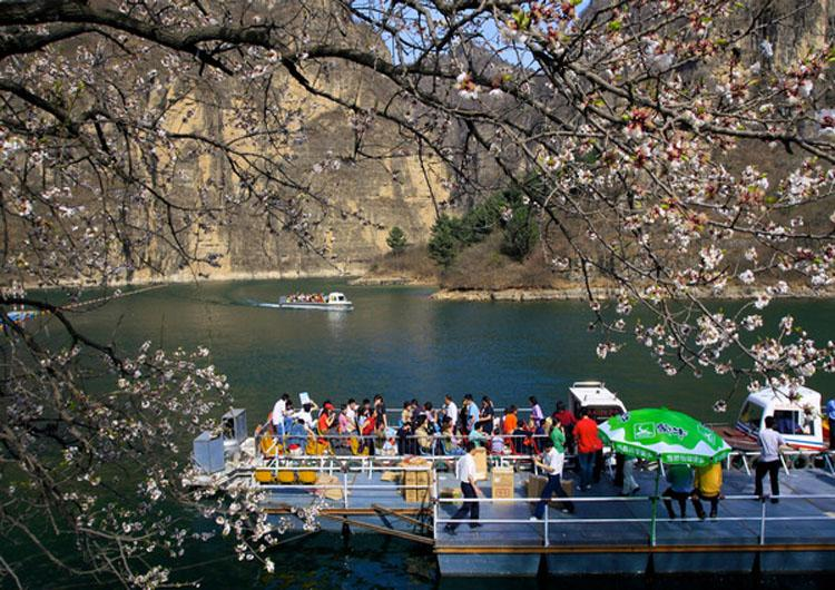Longqing Gorge Scenic Area is Approximately 80 Kilometers Outside of Beijing