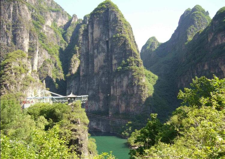 Longqing Gorge is Often Described as the Mini Three Gorges in China