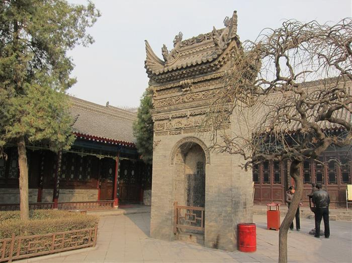 The tablet pagoda of the temple, Xi'an