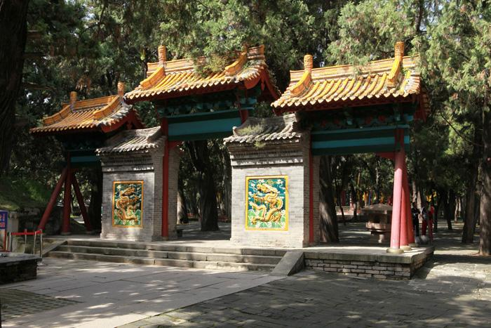 The Xiling Gate in Huangdi Mausoleum