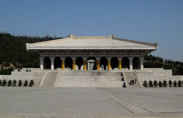 The sacrifice hall of Huangdi Mausoleum