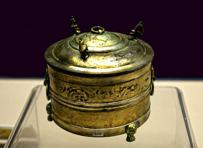 The ancient golden vessel, Xi'an