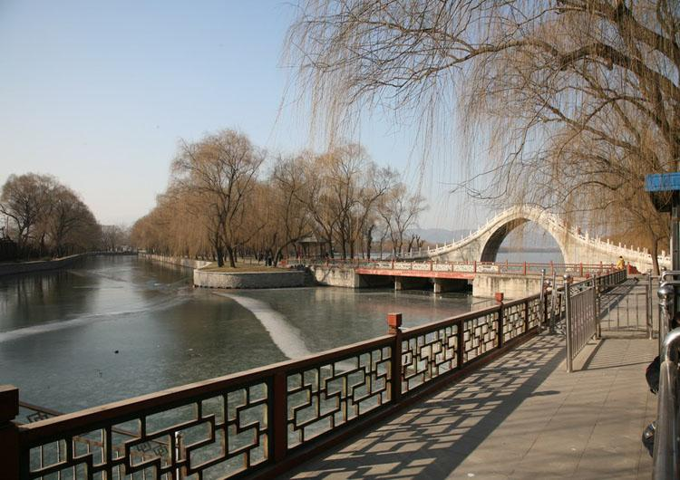 Chang River was ever used by Empress Dowager Cixi to Summer Palace