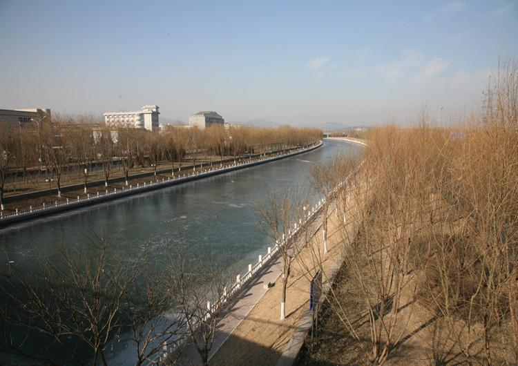 West Part of Chang River in Beijing