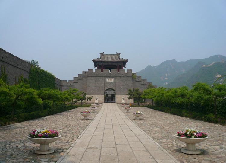 Huangyaguan Great Wall Scenic Zone is Located in China's Tianjin City