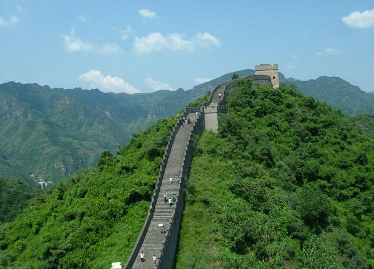 Huangyaguan Great Wall in China's Tianjin is Around 42km Long