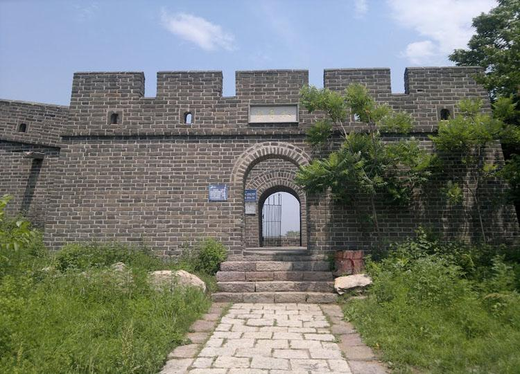 Peaceful Fort of Huangyaguan Great Wall in China's Tianjin