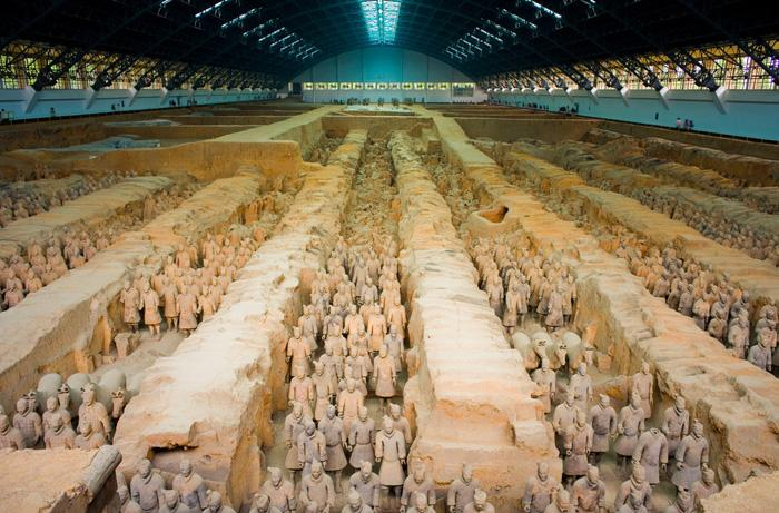 The Terra-Cotta-Warrior, Xi'an