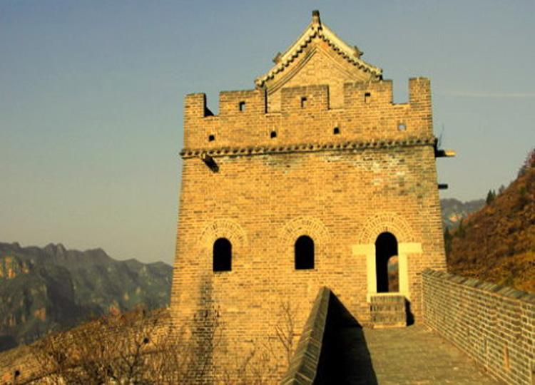 Widows Building of Huangyaguan Great Wall in China's Tianjin