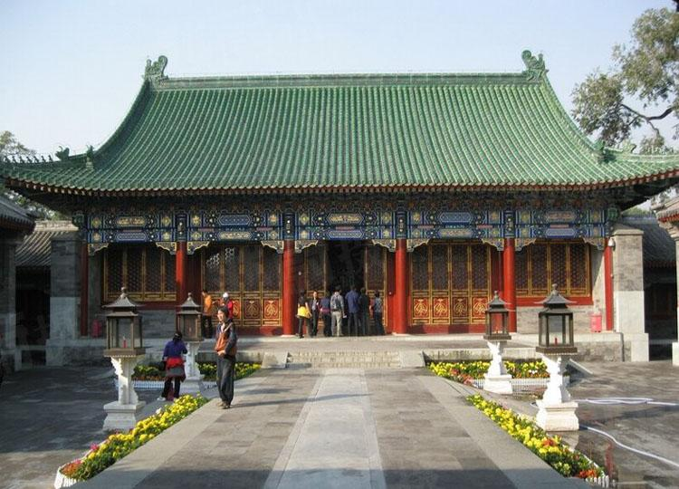 Great Hall of Prince Gong's Mansion, the Most Formal Place for Important Ceremonies