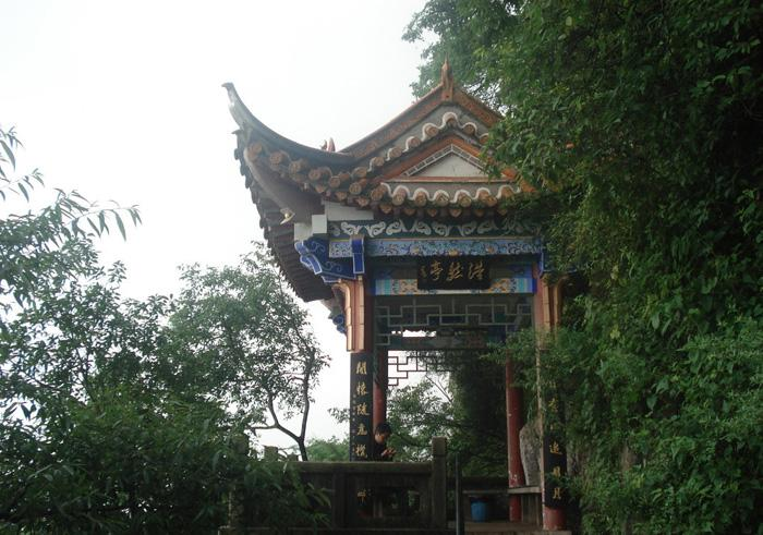 The Haoran Pavilion, West Hill of Kunming
