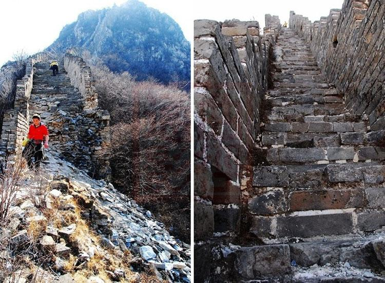 Sky Ladder of Jiankou Great Wall, Beijing