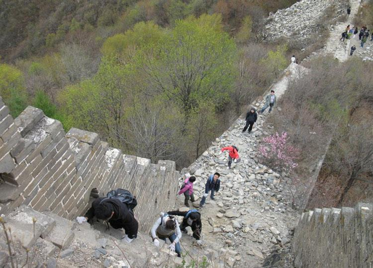 Jiankou Great Wall is the Most Precipitous One Constructed in Ming Dynasty