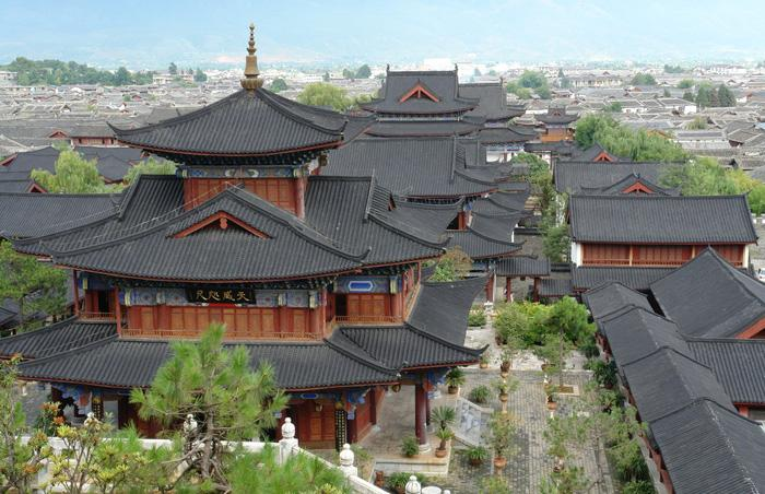Mu's Residence is outstanding in Lijiang Ancient Town