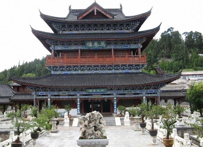 The Wanjuan Pavilion (Ten Thousands Book Buidling