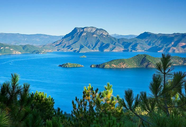 Lugu Lake is the highest lake of Yunnan and one of the deepest freshwater lakes of China.