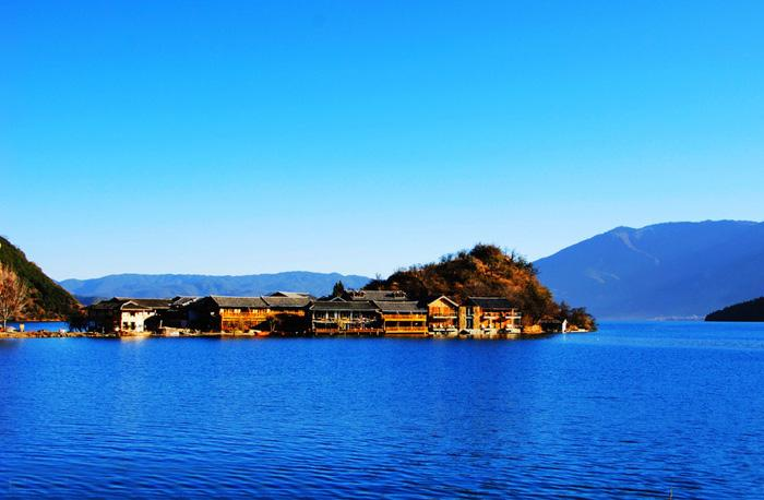 The Lige Peninsula, Lijiang