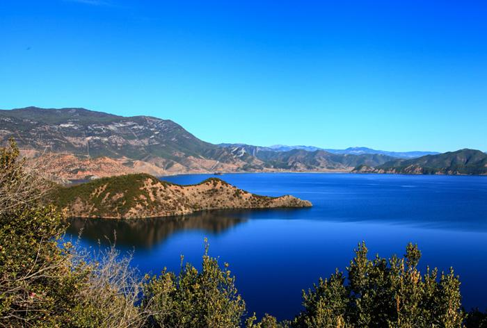 The Snake Island of Lugu Lake