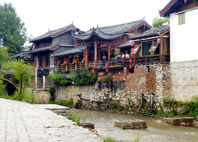 A tranquil view of Shuhe Old Town
